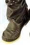 Высокие коричневые сапоги-мокасины Лилу с шнурком BRUNO - 4