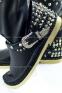 Короткие сапоги-мокасины с клепками на пятке SOFIA - 4